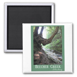 Beecher Creek Edinburg Square Magnet
