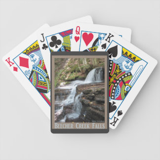 Beecher Creek Falls Bicycle Poker Cards