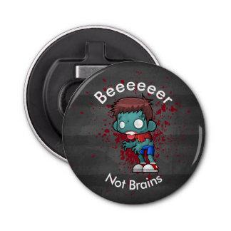 Beeeeer Not Brains Zombie Bottle Opener