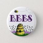 BEEEEEs 6 Cm Round Badge