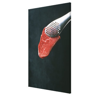 Beef Stretched Canvas Print