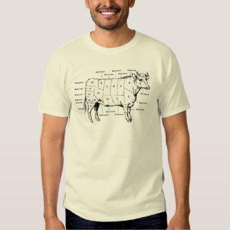 Beef Cuts T-shirts