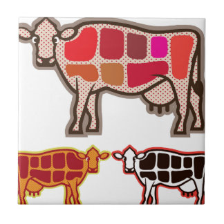 Beef Cuts Tile
