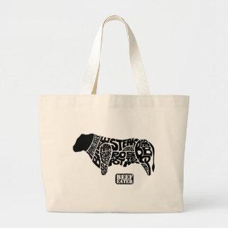 Beef Eater's Chart Jumbo Tote Bag