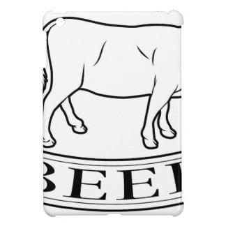 Beef food label iPad mini cases