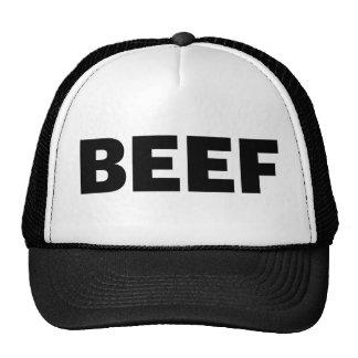 BEEF fun slogan trucker hat