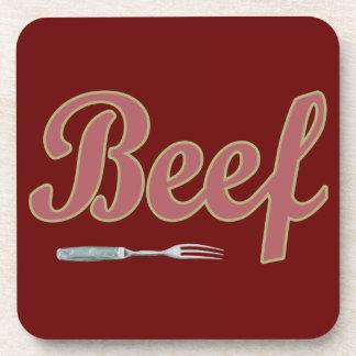 Beef n Fork Drink Coasters