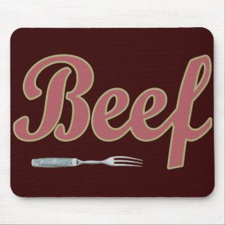 Beef n Fork Mousepad