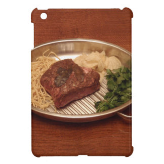Beef, Noodles, Coriander and Chips iPad Mini Covers