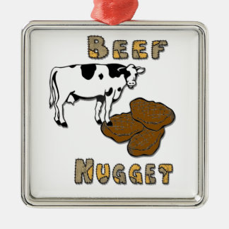 Beef Nugget Christmas Ornament