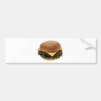 Beef Patti Sandwich Lunch Food Cheeseburger Bumper Sticker