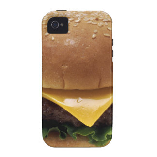 Beef Patti Sandwich Lunch Food Cheeseburger Case-Mate iPhone 4 Covers