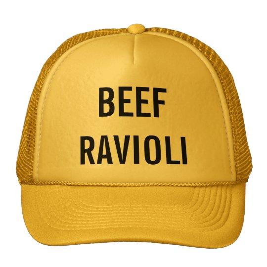 Beef Ravioli Cap