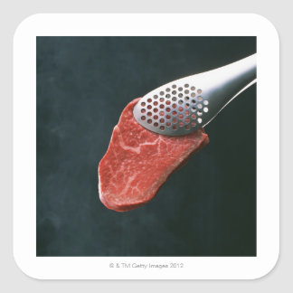 Beef Square Sticker