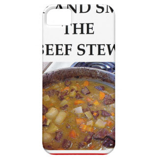 beef stew iPhone 5 cases