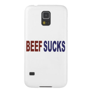 Beef Sucks Galaxy S5 Cover