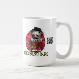 Beefeater Pug Basic White Mug