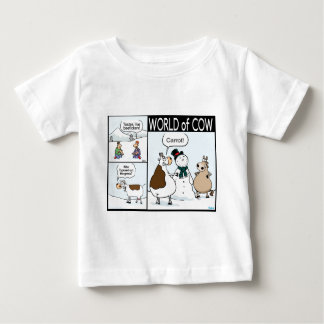 Beeficken, Missing Carrot and Erased Grass Baby T-Shirt