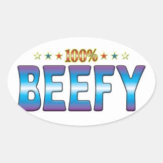 Beefy Star Tag v2 Stickers