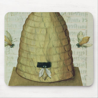 Beehive and Bees Mouse Mat