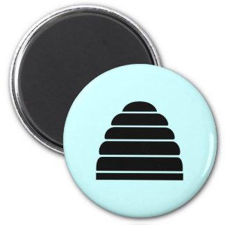 Beehive Refrigerator Magnet