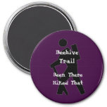 Beehive Trail 7.5 Cm Round Magnet