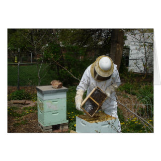Beekeeper Adds Honeybees Card