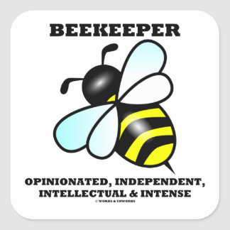 Beekeeper Opinionated Independent Intellectual Stickers