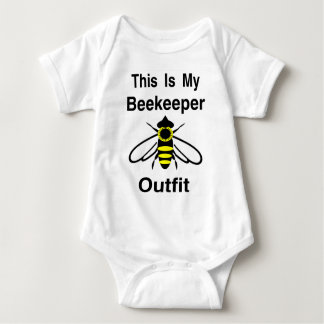 Beekeeper Outfit Baby Bodysuit