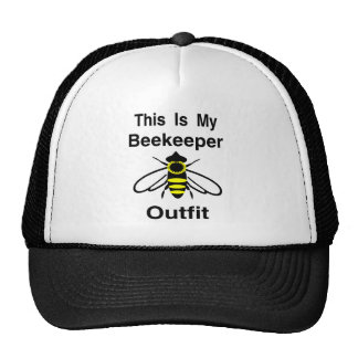 Beekeeper Outfit Mesh Hat