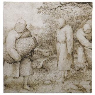 Beekeepers by Pieter Bruegel the Elder Napkins