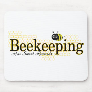 beekeeping sweet rewards mousepads