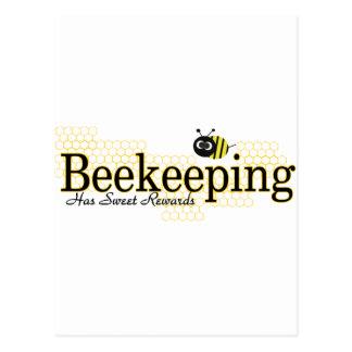 beekeeping sweet rewards postcards