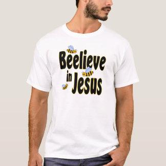 Beelieve in Jesus Black T-Shirt