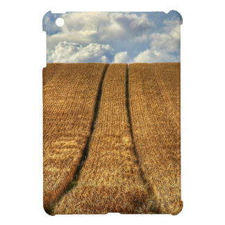 Been and Gone wheat field with Tractor Tracks iPad Mini Case