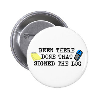 Been There... 6 Cm Round Badge