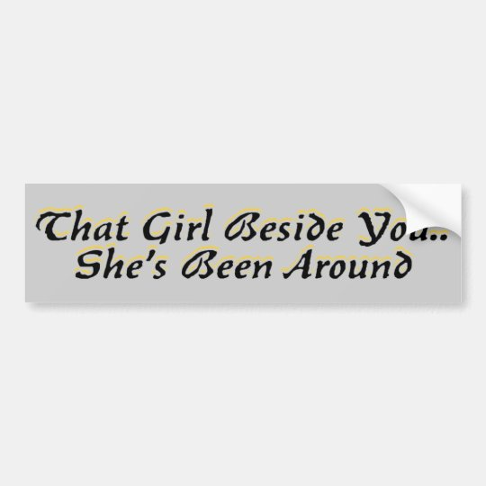 Been There Bumper Sticker