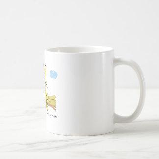 Beene dangle basic white mug