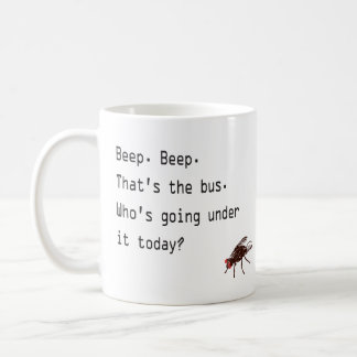 Beep Beep Bus Coffee Mugs
