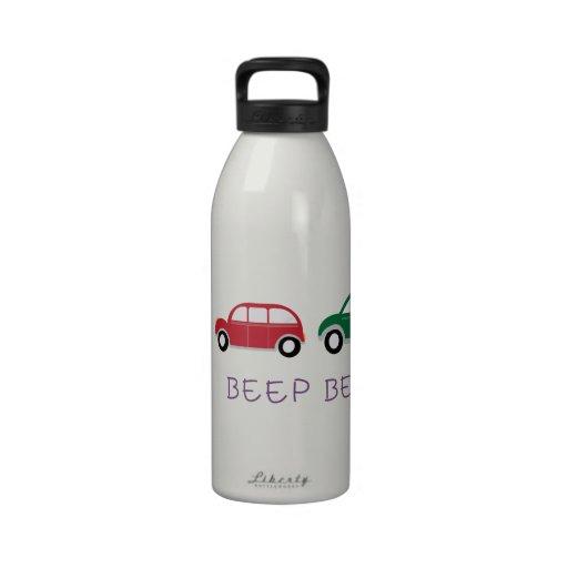 Beep Beep... Water Bottles