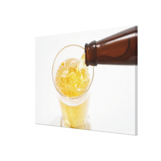 Beer 2 stretched canvas print
