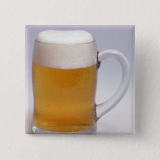 Beer 3 15 cm square badge