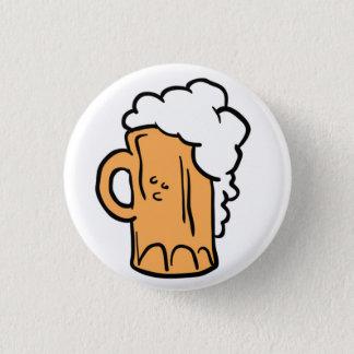 beer 3 cm round badge