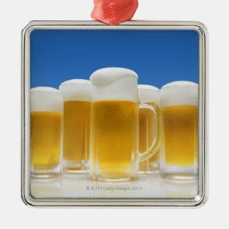 Beer 6 christmas ornament
