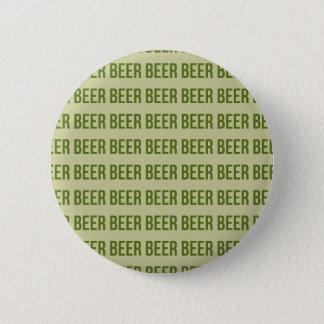 Beer 6 Cm Round Badge