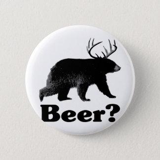 Beer? 6 Cm Round Badge