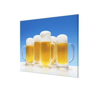 Beer 6 gallery wrapped canvas