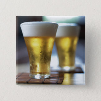 Beer 7 15 cm square badge