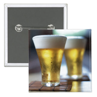 Beer 7 15 cm square badge