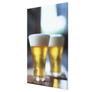 Beer 7 stretched canvas prints